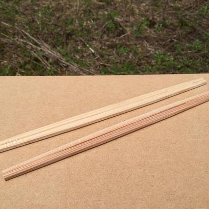 利休箸 白・茶(混)24cm 5000膳(1膳8円)100膳×50束
