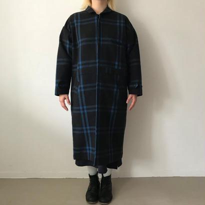 【SPOLOGUM】CHECKER WIDE COAT (size : unisex)