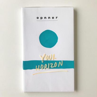 """【opnner】opnner first book   """" HORIZON"""""""