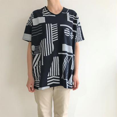 【sneeuw】モンタージュプリントTシャツ(サイズ3・メンズ)