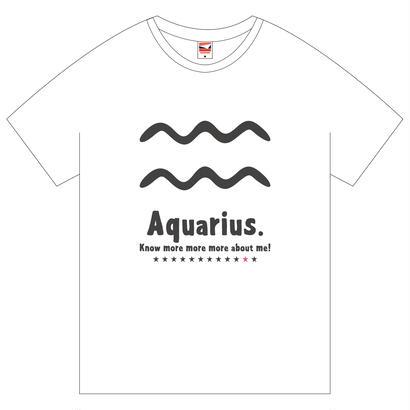 水瓶座  Tシャツ