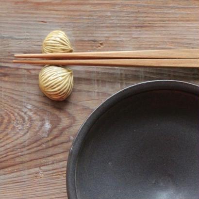 くりの箸置き(2個セット)
