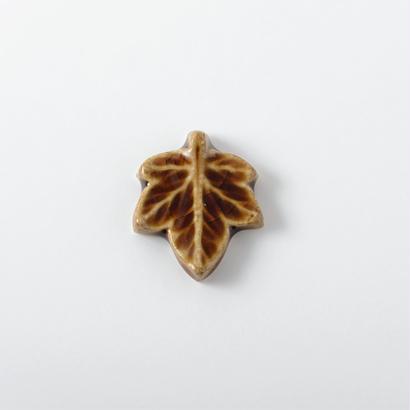 箸置き 飴釉 Lサイズ 楓