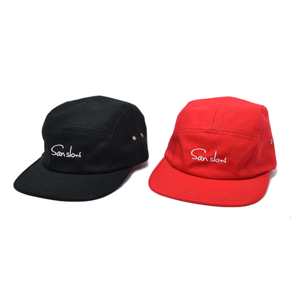 【Sanslow】Camper Logo Cap ※残りREDのみ