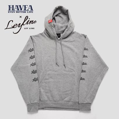 【Leyline × HAVEA】Sleeve Print Sweat Pull PK
