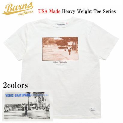 【BARNS】USA製 フォトプリントTee