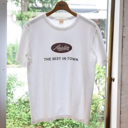 "【BARNS】Print Tee ""Austin"""