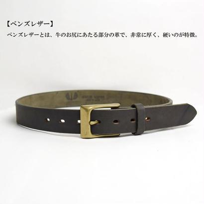 【ベンズレザー】 WYNY社製  オイルベルト <<35mm>>