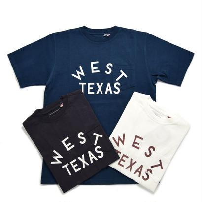 """【訳あり特価】※残りNAVY/Mサイズのみ ヘビーウェイトプリント Tシャツ Made in USA """"WEAT TEXAS"""""""