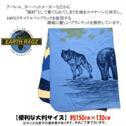 【EARTH RAGZ】ブランケット LODGE POLAR FLEECE THEROWS