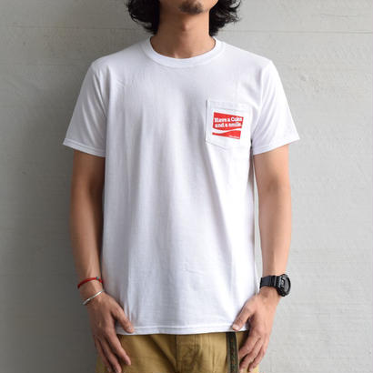 【Fruit of the loom】コーラ Print Pocket Tee