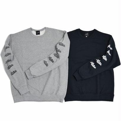 【Leyline × HAVEA】Sleeve Print Sweat crew