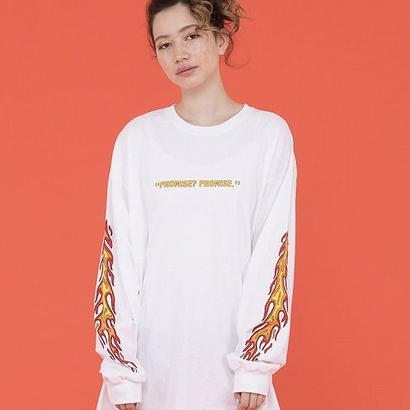 FIRE SLEEVE LONG TEE