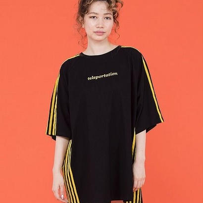 LINED BIG TEE DRESS