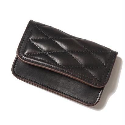 CUT RATE QUILTING LEATHER SHORT WALLET CR-16ST042