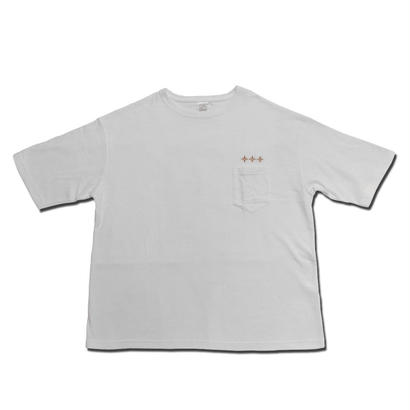 HARDEE ANYWHERE POCKET BIG T-SHIRT WHITE