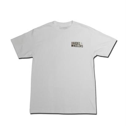 HARDEE STRAIGHT T-SHIRT WHITE