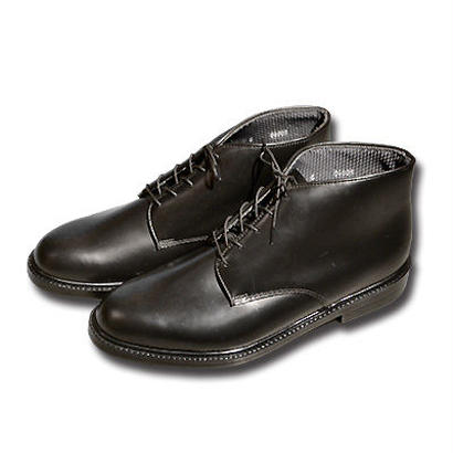 DRESS CHUKA BOOT BLACK LEATHER[90060]