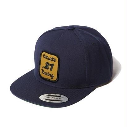 CUT RATE WAPPEN SNAP BACK CAP NAVY CR-16AW042