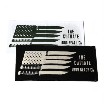 CUT RATE  KNIFE PRINT TOWEL BLACK or WHITE CR-17SS060