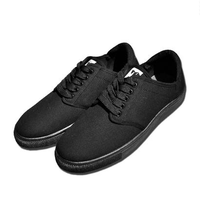 TROOPER CANVAS SHOES  ALL BLACK