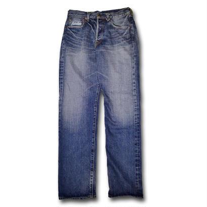 HARDEE HARD WASH DENIM PANTS WASHBLUE