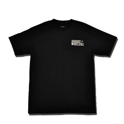 HARDEE STRAIGHT T-SHIRT BLACK