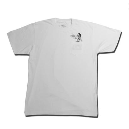 HARDEE BETWEEN US T-SHIRT WHITE
