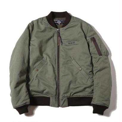 CUTRATE MA-1 TYPE JACKET OLIVE CR-16AW027