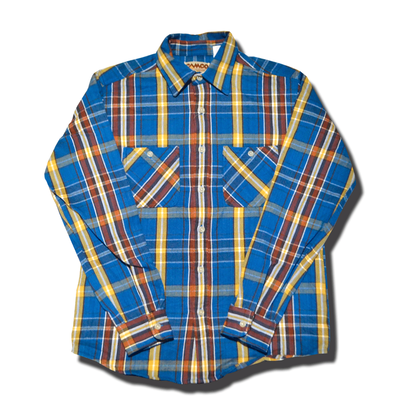 CAMCO HEAVY FLANNEL SHIRT BLUE