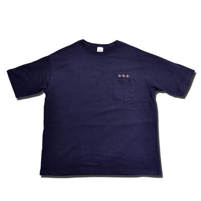 HARDEE ANYWHERE POCKET BIG T-SHIRT NAVY