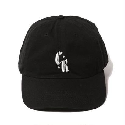 CUTRATE EMBROIDERY CAP BLACK CR-17SS034