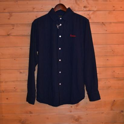 40% OFF L/S ROUND COLLOR SHIRT NAVY[TP13-HSH03]
