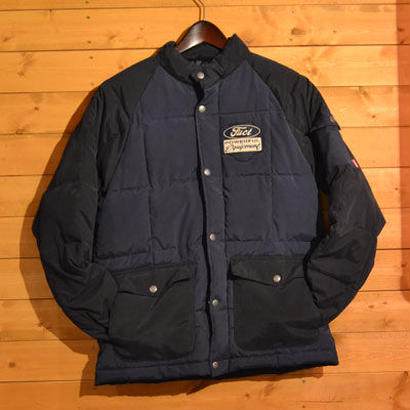 30% OFF 80'S PUFFER JACKET NVY[#7505]