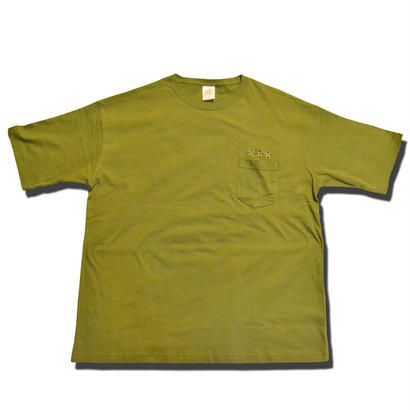 HARDEE ANYWHERE POCKET BIG T-SHIRT OLIVE
