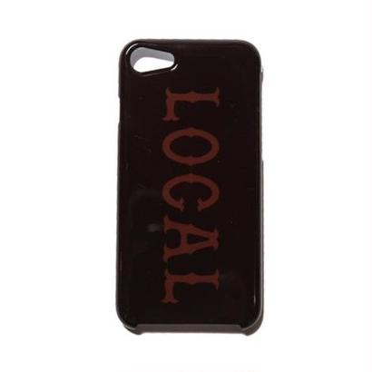 CUT RATE LOCAL iPhone CASE BROWN CR-17SS007