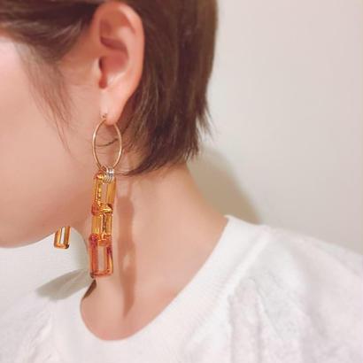 vintage  shikaku  chain  pierce