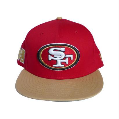 SAN FRANCISCO 49ERS SNAPBACK CAP
