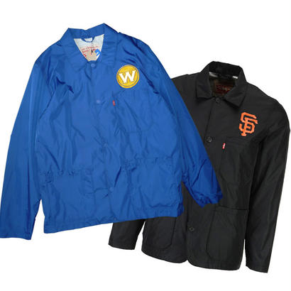 LEVI'S GOLDEN STATE WARRIORS / SF GIANTS COACH JACKET