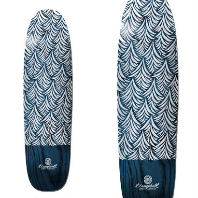 ELEMENT x THOMAS CAMPBELL WAVES INDIGO DECK (8.5 x 31.5inch)