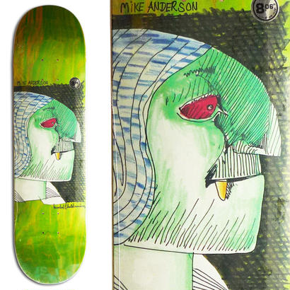 KROOKED MIKE ANDERSON HYDE DECK 20.5 x 81cm (8.06 x 31.8inch, WB14.38)