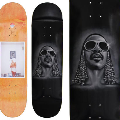 FUCKING AWESOME JASON DILL  STEVIE 2 DECK  (8.38 x 31.875inch)