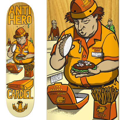 ANTI HERO CARDIEL WHERE ARE THEY NOW DECK  (8.18 x 32inch)