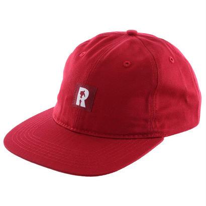 REAL R LABEL  STRAPBACK CAP