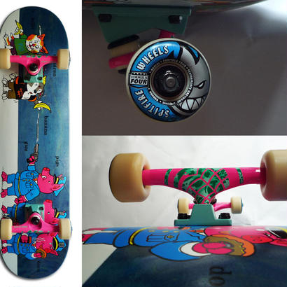 PAISLEY SKATES SEAN CLIVER PIGS COMPLETE SET  (8.12 x 32.12inch)