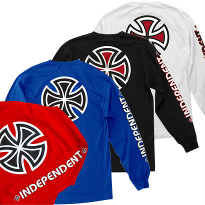 INDEPENDENT BAR/CROSS L/S TEE