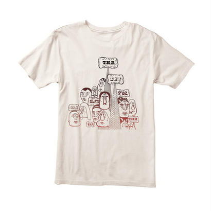 RVCA BARRY CROWD TEE BARRY McGEE