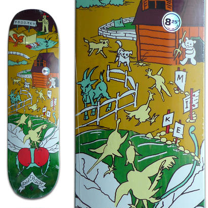 KROOKED MIKE ANDERSON FARM BOY DECK (8.25 x 32inch)