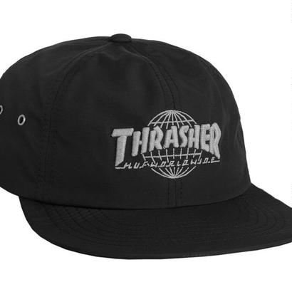 HUF x THRASHER  TDS 6 PANEL CAP