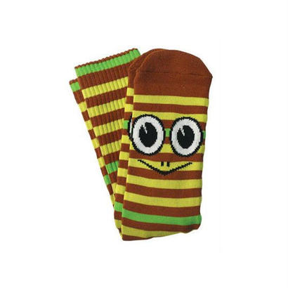 TOY MACHINE TURTLE STRIPES SOCKS